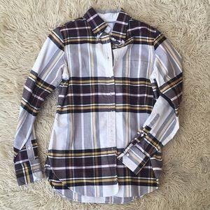 Brooks Brothers Thom Browne Plaid Button Shirt M